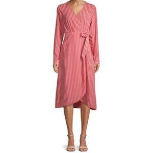 Pink Wrap Dress | Time & Tru